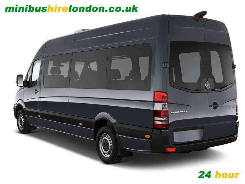 24 hour Minibus and Driver Hire London